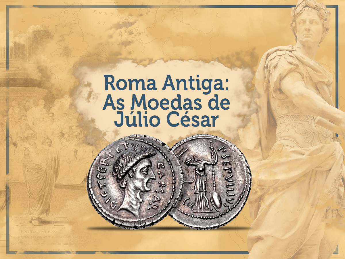 As Moedas De Júlio César Ditador De Roma Jafet Numismática