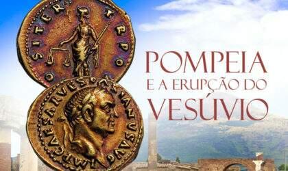 A Cidade de Pompeia e a erupção do vulcão Vesúvio