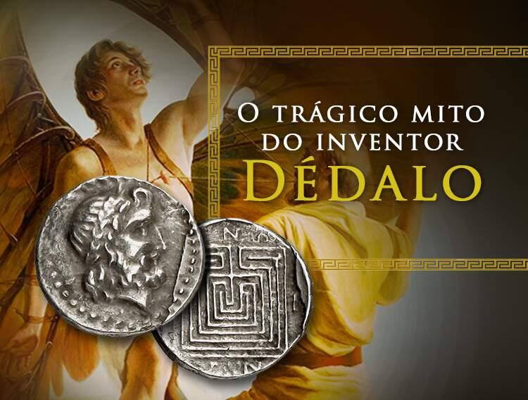 Conheça o trágico mito do inventor Dédalo.