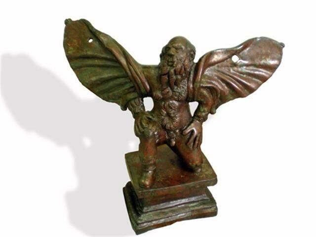 Escultura de bronze de Dédalo, feita no século III a.C.!